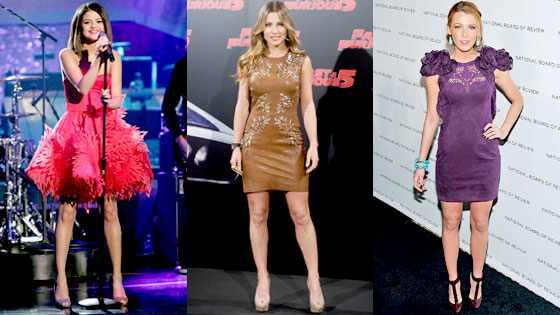 Selena Gomez, Elsa Pataky, Blake Lively