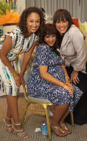 tia mowry baby pics. at Tia Mowry#39;s baby shower