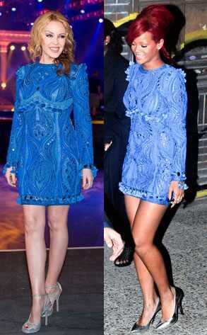 Kylie Minogue, Rihanna