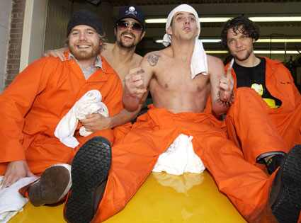 Jackass, Bam Margera, Johnny Knoxville, Steve-O and Ryan Dunn