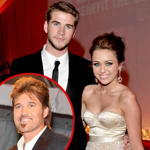 Miley Cyrus, Liam Hemsworth, Billy Ray Cyrus