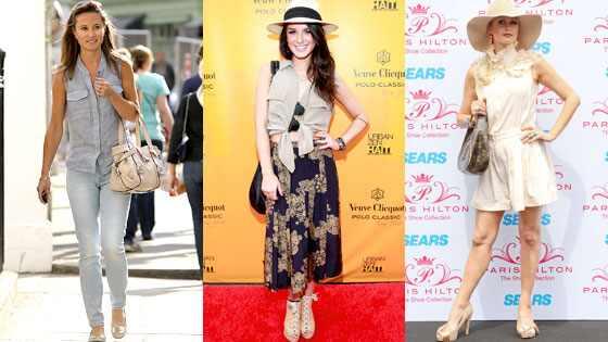 Pippa Middleton, Shenae Grimes, Paris Hilton