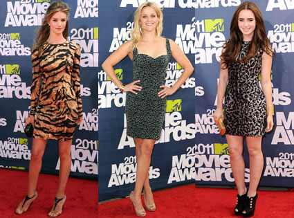Reese Witherspoon, Rosie Huntington-Whiteley, Lily Collins