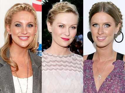 Stephanie Pratt, Kirsten Dunst, Nicky Hilton