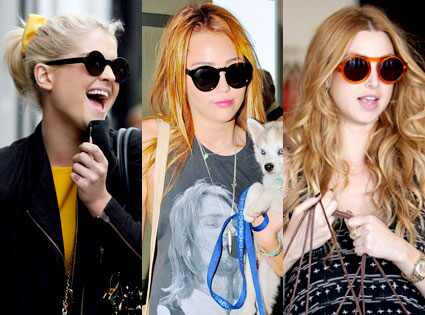 Kelly Osbourne, Miley Cyrus, Whitney Port