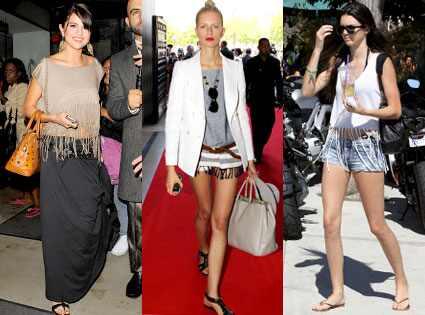 Selena Gomez, Karolina Kurkova, Kendall Jenner