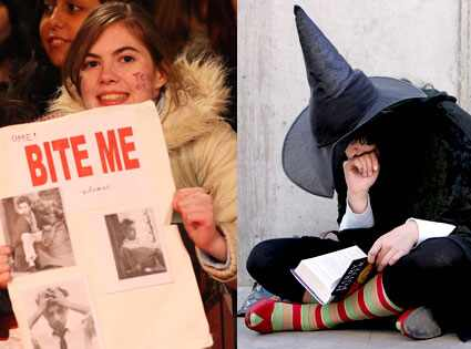 Twilight, Harry Potter, Fans
