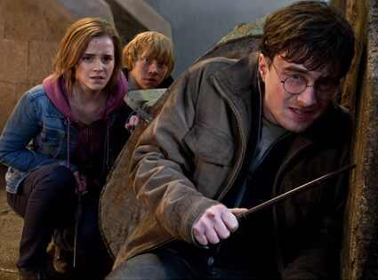 Harry Potter and the Deathly Hallows Part 2, Daniel Radcliffe, Emma Watson, Rupert Grint