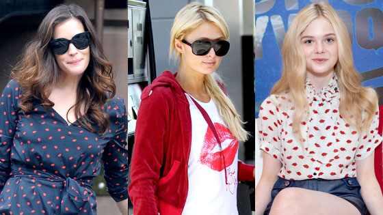 Liv Tyler, Paris Hilton, Elle Fanning