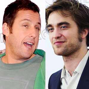 Adam Sandler, Robert Pattinson