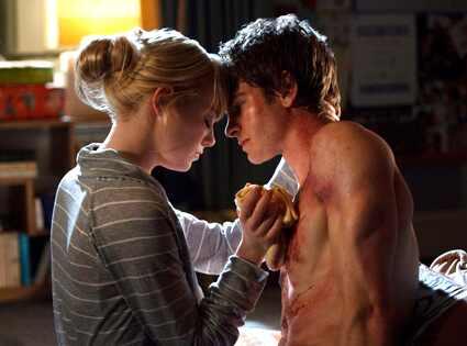 Andrew Garfield & Emma Stone