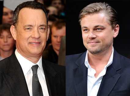 Tom Hanks, Leonardo DiCaprio