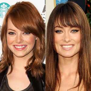 Emma Stone and Olivia Wilde: The Beautiful New Faces of Revlon