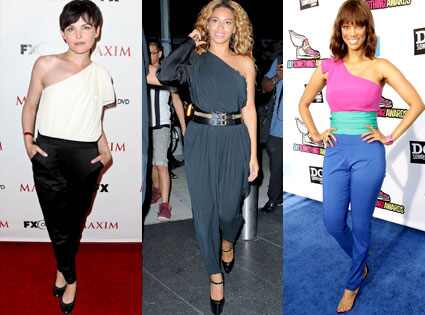 Ginnifer Goodwin, Beyonce Knowles, Tyra Banks