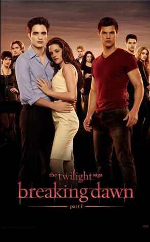 Breaking Dawn Part 1 Poster