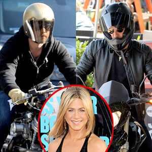 Brad Pitt, Justin Theroux, Jennifer Aniston