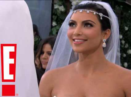 Kim Kardashian, Kris Humphries Wedding Video Screen Grabs