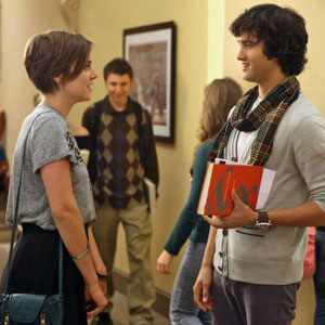 Michael Steger, Jessica Stroup, 90210