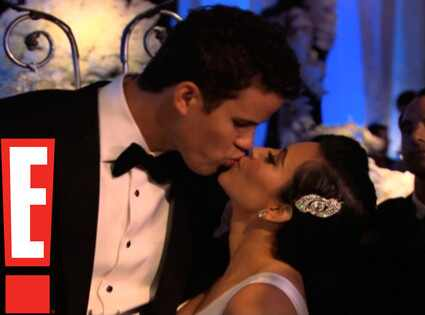 Kim Kardashian, Kris Humphries, Wedding Reception