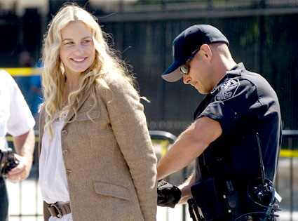 daryl hannah arrested pictures