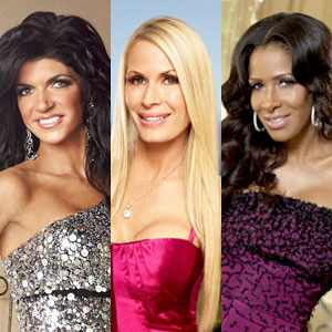 Teresa Giudice, Peggy Tanous, Sheree Whitfield
