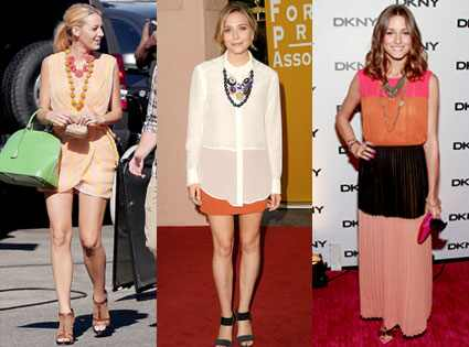 Blake Lively, Elizabeth Olsen, Olivia Palermo
