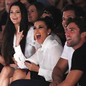 Kim Kardashian, Brody Jenner, Kris Humprhies, Kourtney Kardashian, Kendall Jenner