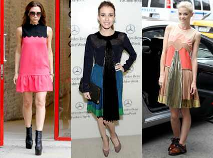 Victoria Beckham, Emma Roberts, Jamie King