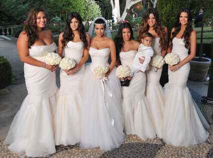 ¡Nueva foto de la Boda de Kim Kardashian!