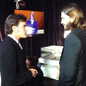 Charlie Sheen, Ashton Kutcher