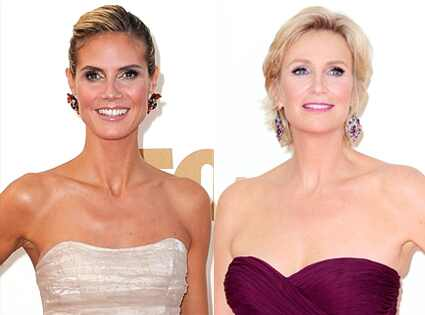 Heidi Klum, Jane Lynch