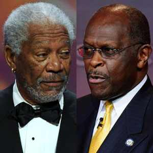 Morgan Freeman Calls The Tea Party Racist, Herman Cain To The Defense