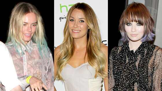Kate Bosworth, Lauren Conrad, Emily Browning
