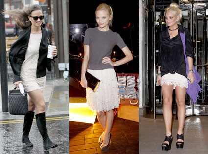 Pippa Middleton, Jaime King, Lindsay Lohan