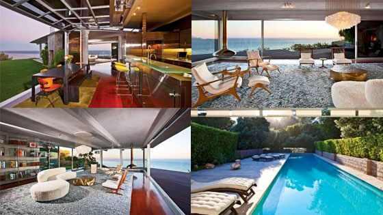 Veja O Interior Da Casa De Praia De Angelina Jolie E Brad