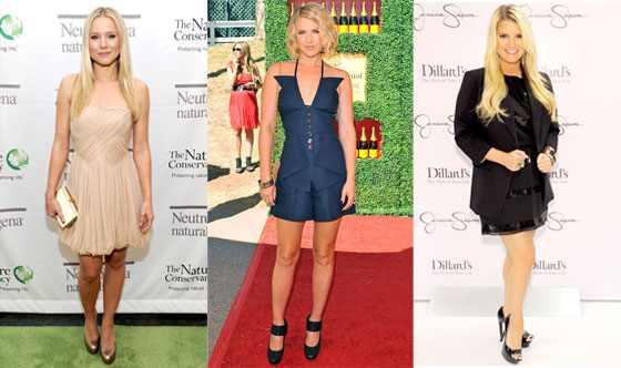 Jessica Simpson, Kristen Bell, Ali Larter