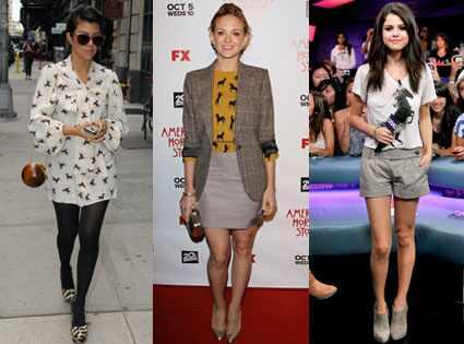 Kourtney Kardashian, Jayma Mays, Selena Gomez