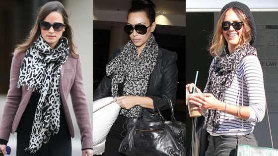 Pippa Middleton, Kim Kardashian, Jessica Alba