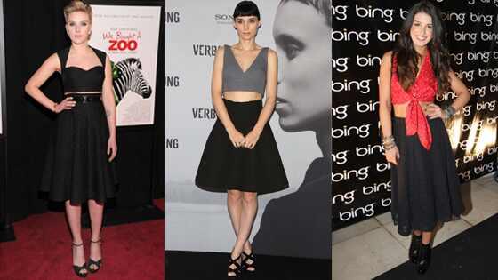 Scarlett Johansson, Rooney Mara, Shenae Grimes