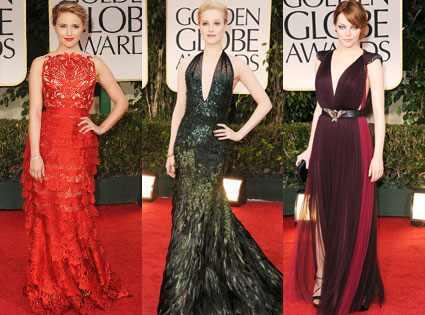 Dianna Agron, Emma Stone, Evan Rachel Wood