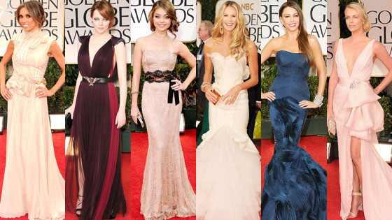Charlize Theron, Elle MacPherson, Giuliana Rancic, Emma Stone, Sofia Vergara, Sarah Hyland