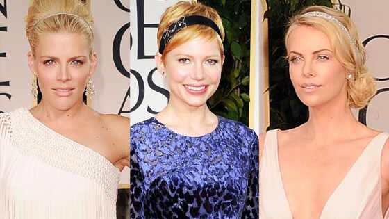Busy Phillips, Michelle Williams, Charlize Theron, Headbands