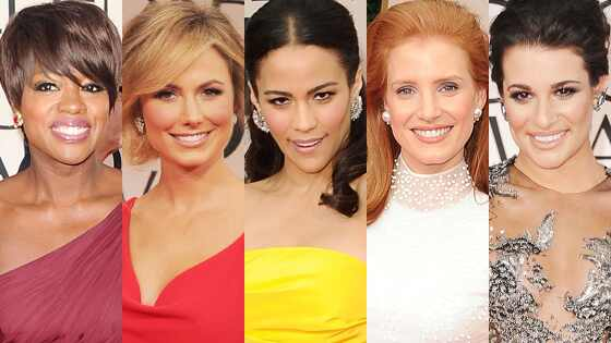 Paula Patton, Lea Michele, Viola Davis, Jessica Chastain, Stacy Keibler