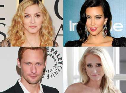 Golden Globes Party Time: Kim Kardashian, Madonna, Alexander Skarsgård and a ...
