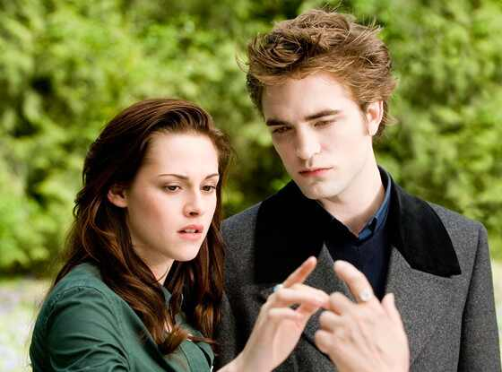 Twilight, New Moon, Robert Pattinson, Kristen Stewart