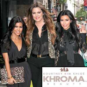 Kourtney Kardashian, Khloe Kardashian, Kim Kardashian, Khroma