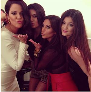 Kim Kardashian, Kendall Jenner, Kylie Jenner, Khloe Kardashian Odom