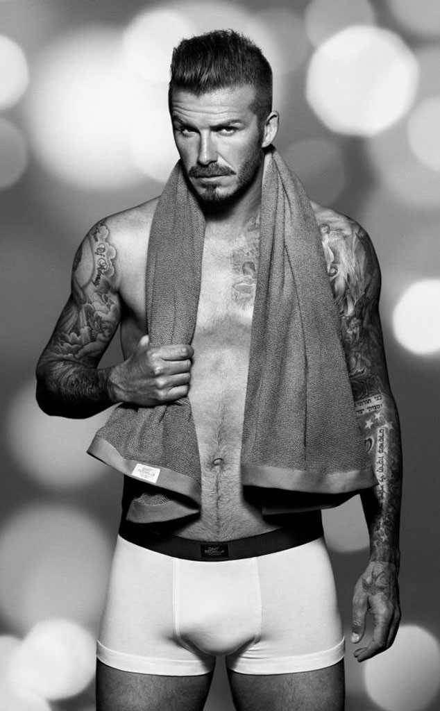 David Beckham, H&M Ad