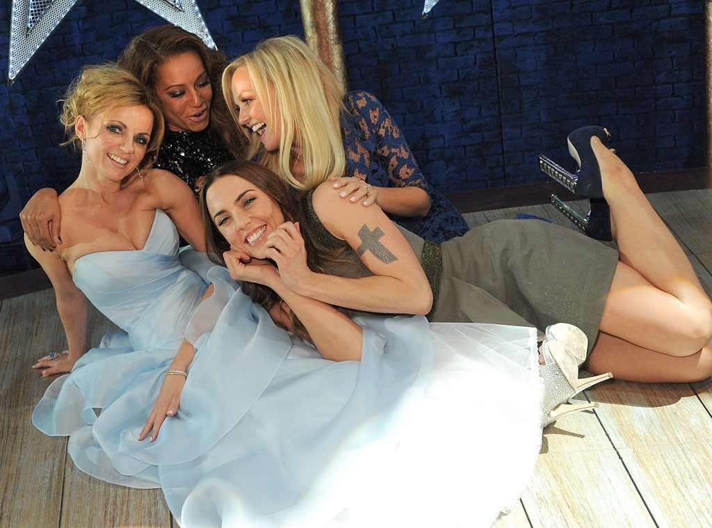 Geri Halliwell, Melanie Brown, Melanie Chisholm, Emma Bunton, Spice Girls