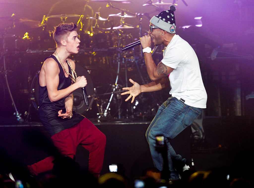 Justin Bieber and Ludacris